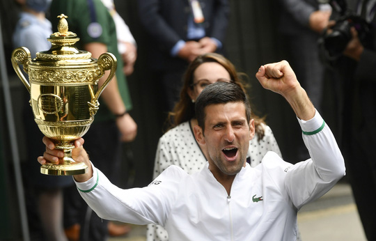 Djokovic vô địch Wimbledon 2021, san bằng kỷ lục 20 Grand Slam - Ảnh 10.