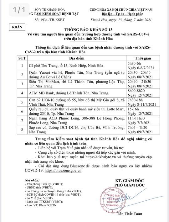 Khánh Hòa: Miễn phí xét nghiệm SAR-CoV-2 cho khách tại Sân bay Cam Ranh - Ảnh 2.
