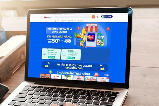Thương mại điện tử giúp người dân an tâm mua sắm tại nhà - Ảnh 1.
