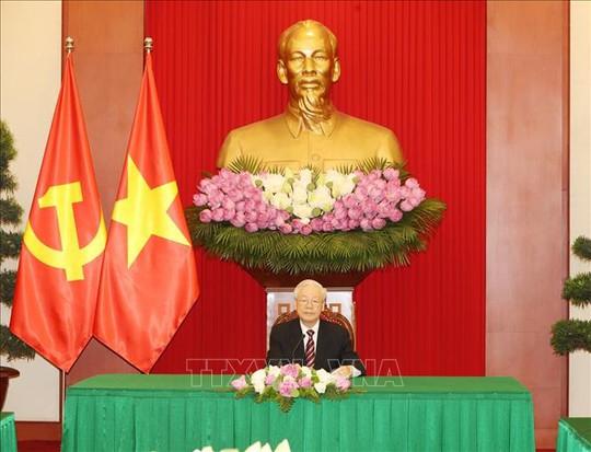 Tổng Bí thư Nguyễn Phú Trọng điện đàm với Tổng thống Hàn Quốc Moon Jae-in - Ảnh 1.