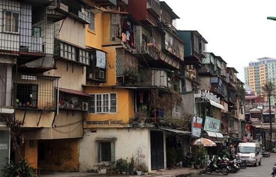 Nghị định mới về cải tạo, xây dựng lại nhà chung cư - Ảnh 1.