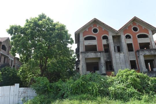 Cận cảnh dự án từng bị Thanh tra Chính phủ sờ gáy, hàng loạt biệt thự vẫn bỏ hoang - Ảnh 8.
