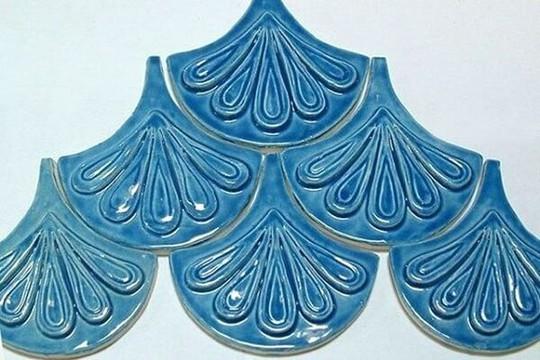 Ứng dụng của gạch vảy cá trong trang trí nội ngoại thất - Ảnh 4.