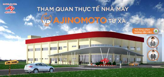 Tham quan nhà máy Ajinomoto trực tuyến nhờ công nghệ số hóa không gian - Ảnh 1.