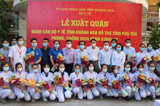 Chi viện cho Phú Yên dập dịch Covid-19 bùng phát diện rộng - Ảnh 1.