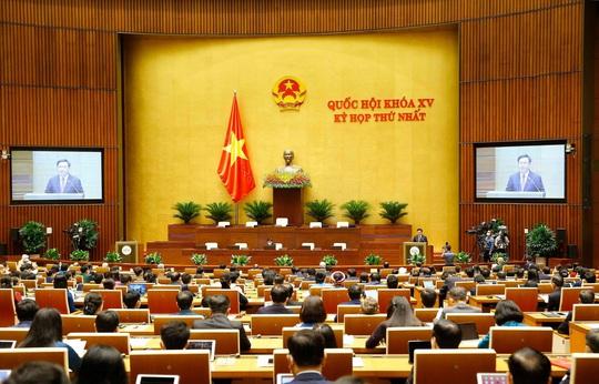 Khai mạc kỳ họp đầu tiên của Quốc hội khoá XV - Ảnh 2.