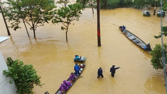 Khu đô thị hiện đại nhưng... ngập lụt - Ảnh 1.