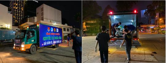 """""""Chuyến xe nghĩa tình"""" từ Bình Phước: """"Sài Gòn ơi, mau khỏe lại"""" - Ảnh 3."""