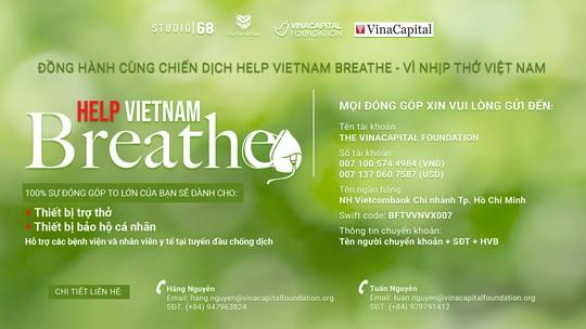 """VinaCapital Foundation triển khai chương trình """"Help Vietnam Breathe – Vì Nhịp thở Việt Nam"""" - Ảnh 1."""