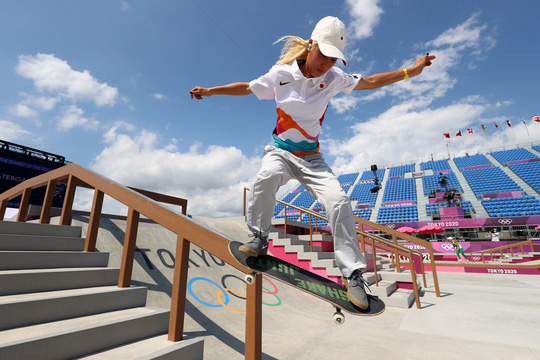 Sốc: Sao 13 tuổi giành huy chương vàng Olympic Tokyo - Ảnh 7.