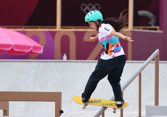Sốc: Sao 13 tuổi giành huy chương vàng Olympic Tokyo - Ảnh 4.