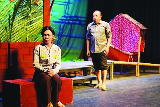 Diễn viên Minh Dự: Làm sân khấu không giàu nhưng có nhiều của cải - Ảnh 4.