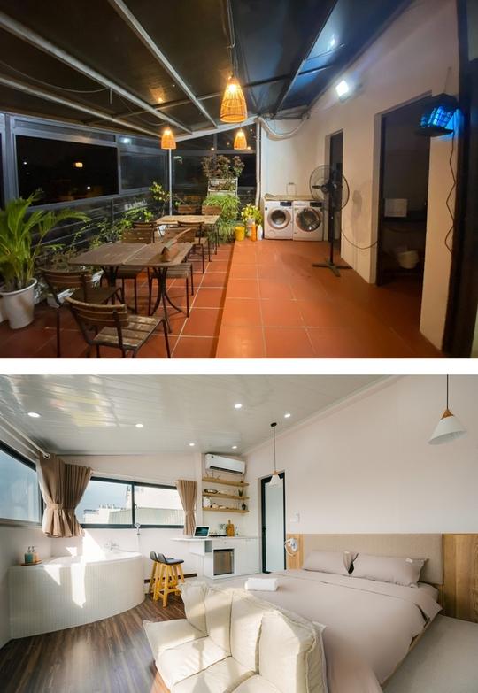 Cải tạo sân thượng nhà phố cổ thành mini penthouse - Ảnh 1.