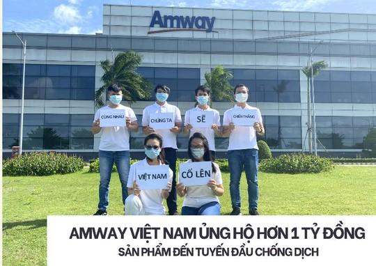 Amway Việt Nam hỗ trợ tuyến đầu chống dịch khu vực phía Nam - Ảnh 2.