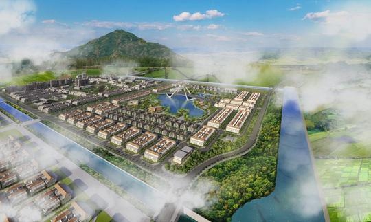 Khu đô thị The New City Châu Đốc: nhất cận thị – nhị cận giang – tam cận lộ - Ảnh 1.
