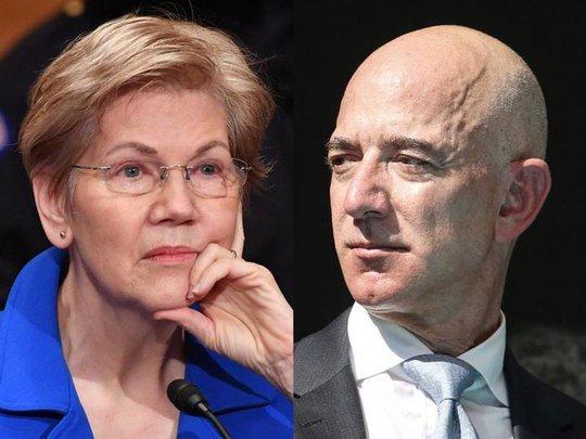Thượng nghị sĩ Mỹ: Nếu Jeff Bezos có tiền bay vào vũ trụ thì nên nộp nhiều thuế hơn - Ảnh 1.