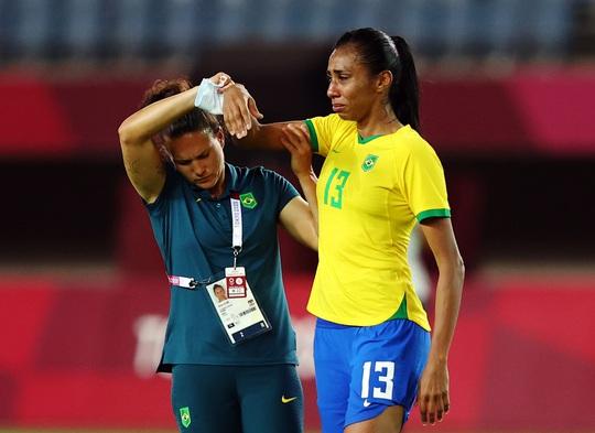 Thua luân lưu, tuyển nữ Brazil dừng bước ở tứ kết Olympic 2020 - Ảnh 2.