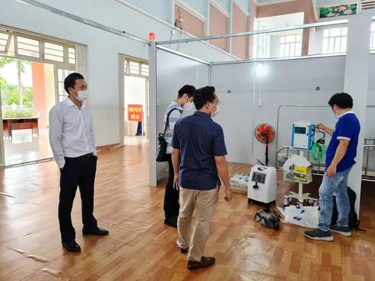 Tạo Tín Phát và Kavi Group hỗ trợ thiết bị cho Bệnh viện dã chiến TP Đồng Xoài - Ảnh 3.