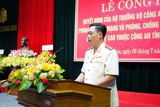 Công an Quảng Nam ra mắt phòng an ninh mạng - Ảnh 2.