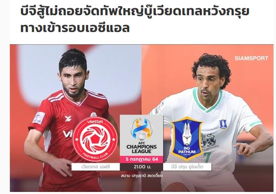 Báo Thái nhận định CLB Viettel thất bại tại AFC Champions League 2021 - Ảnh 2.