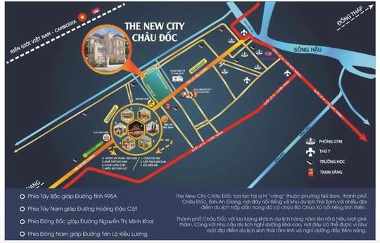 Vị trí đắc địa của The New City Châu Đốc - Ảnh 1.