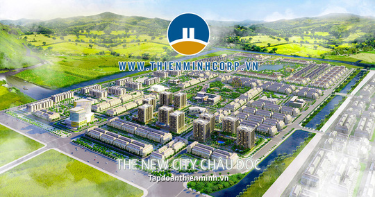 Tập đoàn Thiên Minh xây dựng khu đô thị tại trung tâm TP Châu Đốc - Ảnh 1.