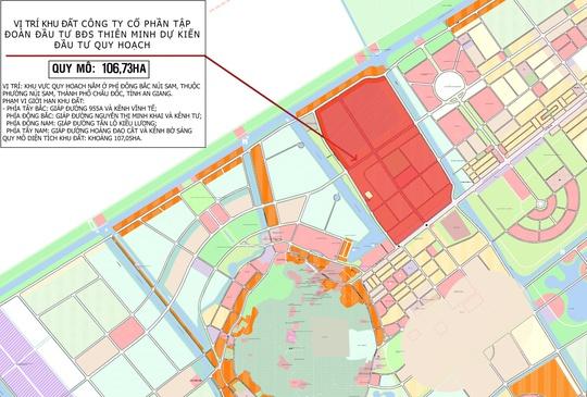 Tập đoàn Thiên Minh xây dựng khu đô thị tại trung tâm TP Châu Đốc - Ảnh 3.