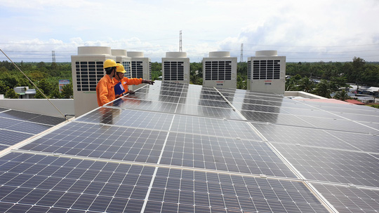 Kiểm tra thực tế mua bán điện mặt trời tại Vĩnh Long - Ảnh 2.