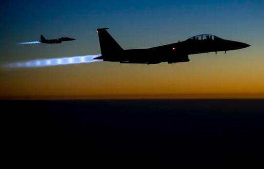 Mỹ bắn hạ máy bay không người lái đầy chất nổ ở Iraq - Ảnh 3.