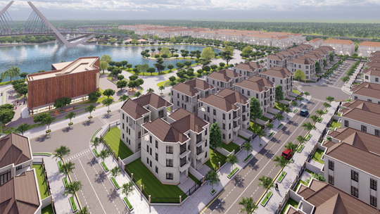 Trải nghiệm cuộc sống khác biệt tại khu đô thị The New City Châu Đốc - Ảnh 1.