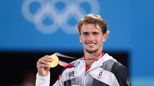 Alexander Zverev đi vào lịch sử khi vô địch Olympic 2020 - Ảnh 3.