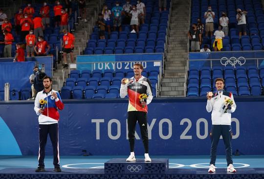 Alexander Zverev đi vào lịch sử khi vô địch Olympic 2020 - Ảnh 6.