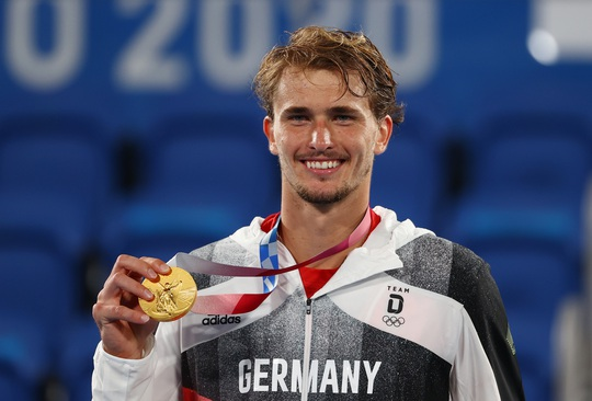 Alexander Zverev đi vào lịch sử khi vô địch Olympic 2020 - Ảnh 5.