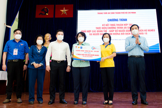 Tập đoàn Hưng Thịnh tiếp tục góp 10 tỉ đồng hỗ trợ triệu suất ăn cho người nghèo - Ảnh 2.