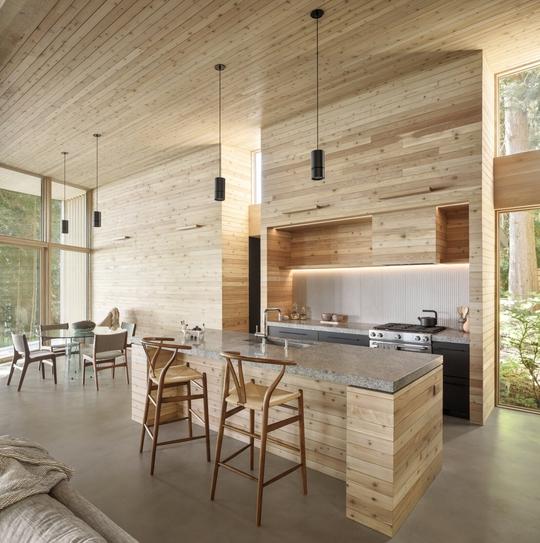 Ngắm nhìn cabin tuyệt đẹp nằm gần rừng Vancouver - Ảnh 3.
