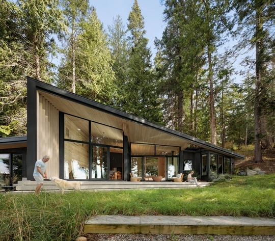 Ngắm nhìn cabin tuyệt đẹp nằm gần rừng Vancouver - Ảnh 8.
