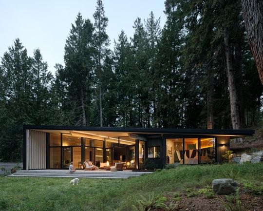 Ngắm nhìn cabin tuyệt đẹp nằm gần rừng Vancouver - Ảnh 9.