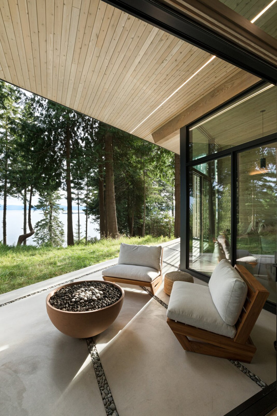 Ngắm nhìn cabin tuyệt đẹp nằm gần rừng Vancouver - Ảnh 10.