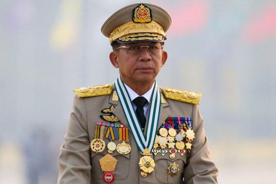 Tổng tư lệnh quân đội Myanmar làm thủ tướng - Ảnh 1.