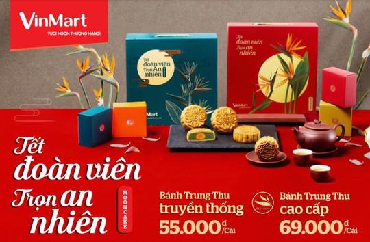 VinMart hâm nóng thị trường thực phẩm mùa trăng với 8 vị bánh trung thu cao cấp - Ảnh 2.