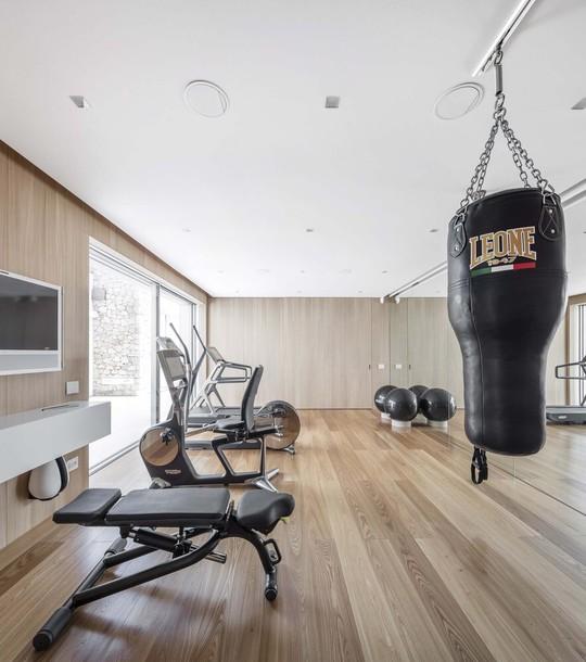 10 thiết kế phòng gym tại nhà - Ảnh 1.
