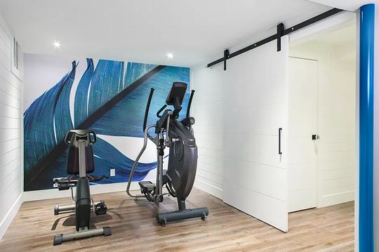 10 thiết kế phòng gym tại nhà - Ảnh 9.