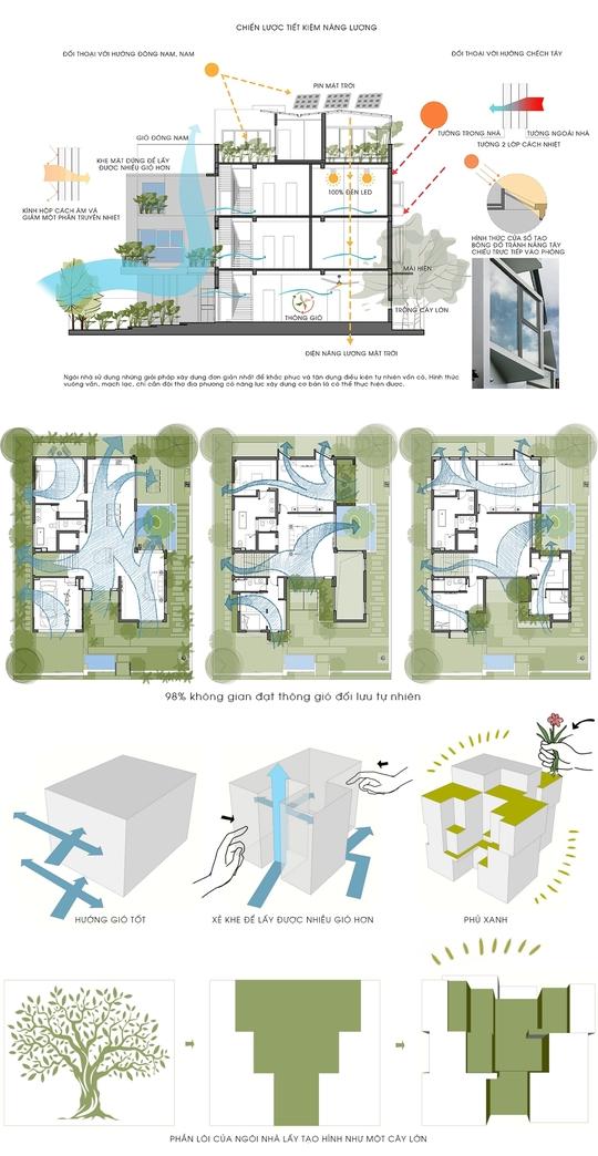 Gia đình Hải Phòng chi triệu USD để xây căn nhà xanh - Ảnh 2.