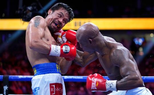 Manny Pacquiao thất bại trong trận tranh đai vô địch WBA hạng bán trung - Ảnh 5.