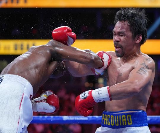 Manny Pacquiao thất bại trong trận tranh đai vô địch WBA hạng bán trung - Ảnh 4.