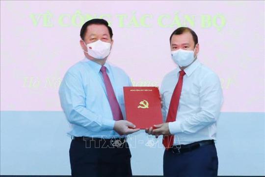 Ông Lê Hải Bình giữ chức Phó Trưởng Ban Tuyên giáo Trung ương - Ảnh 1.