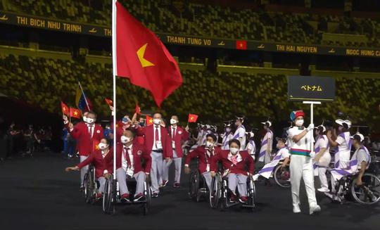 Khai mạc Paralympic Tokyo: Sắc màu của nhân văn và tình người - Ảnh 8.