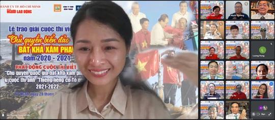 Báo Người Lao Động trao giải cuộc thi viết Chủ quyền biển đảo bất khả xâm phạm - Ảnh 5.