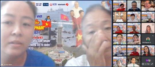 Báo Người Lao Động trao giải cuộc thi viết Chủ quyền biển đảo bất khả xâm phạm - Ảnh 4.