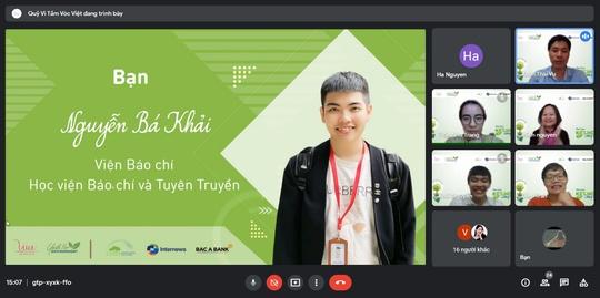 """Quỹ Vì Tầm Vóc Việt tổng kết giai đoạn 1 của dự án """"Thanh niên vì môi trường"""" - Ảnh 4."""